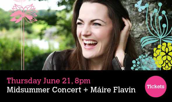 Midsummer Concert Fews Ensemble with Máire Flavin (soprano) Thursday June 21, 2018 - 8pm Warrenpoint Town Hall, Warrenpoint